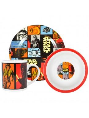 Set Desayuno Star Wars