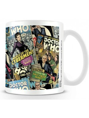 Taza Doctor Who Collage