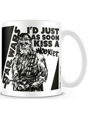 Taza Kiss a Wookie