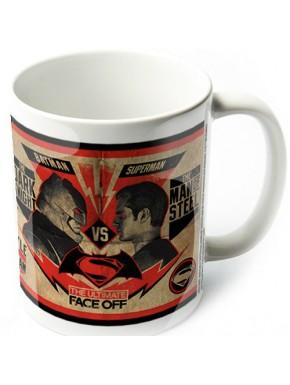 Taza Fight Poster Batman V Superman