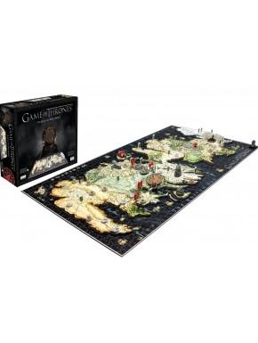 Juego de Tronos puzzle 4D mapa poniente