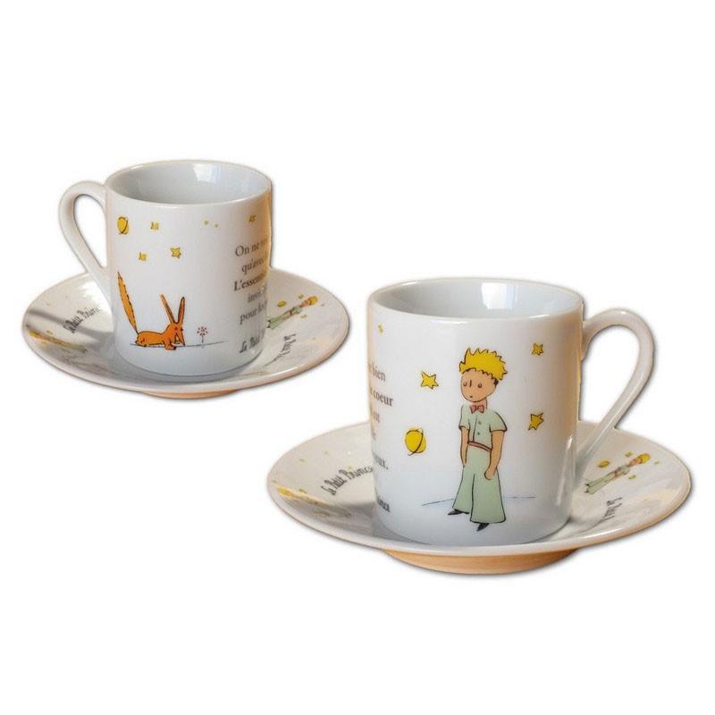 Set tazas cafe expreso el principito solo - Tazas de cafe de diseno ...