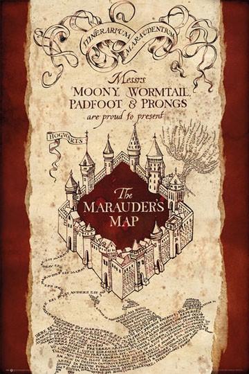 Poster Mapa del Merodeador ...