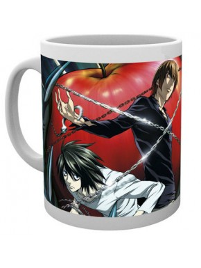 Taza Death Note Light y L