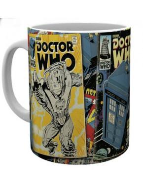 Taza Dr Who Classic Comics