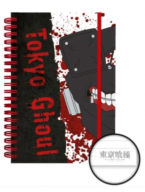 Cuaderno espiral A5 Tokyo Ghoul