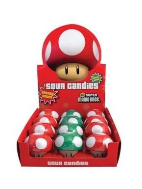 Caramelos Nintendo seta Super Mario Bros