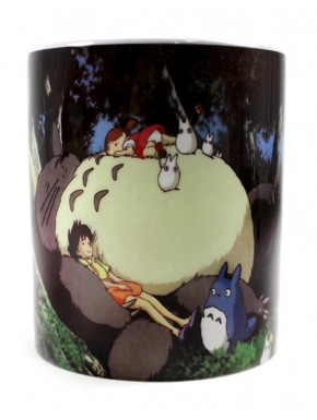 Taza Totoro siesta