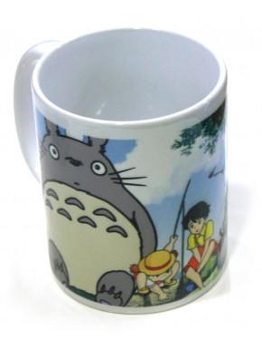Taza Totoro de Pesca