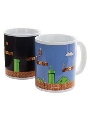Super Mario Bros Taza sensitiva al calor
