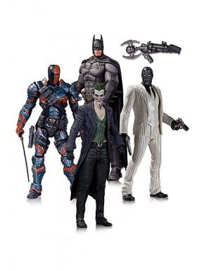 Batman Arkham Origins Pack de 4 Figuras 17 cm