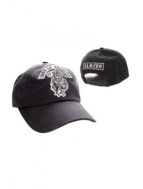 Gorra Sons Of Anarchy logo