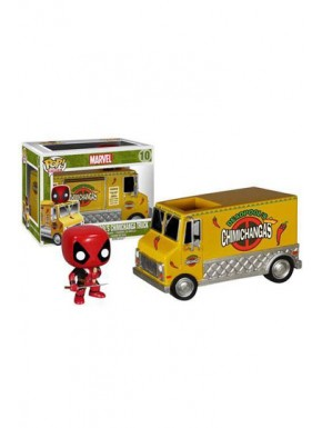 Funko Pop! Chimichanga y Deadpool