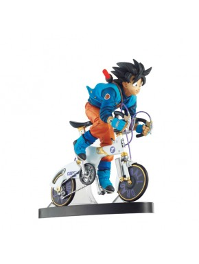 Figura Goku 02 F en bici 14 cm