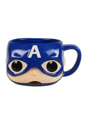 Taza Funko Pop Capitán América