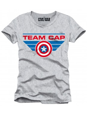 Camiseta gris Team Cap