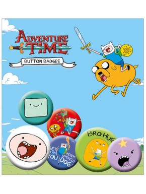 Chapas Hora de Aventuras Adventure Time pins