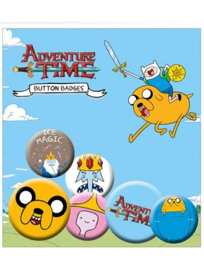 Chapas Hora de Aventuras Adventure Time pins