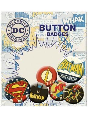 Chapas logos DC Comics