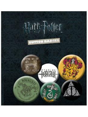 Pack 6 chapas Harry Potter