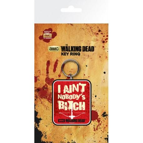 Llavero caucho Walking Dead nobody