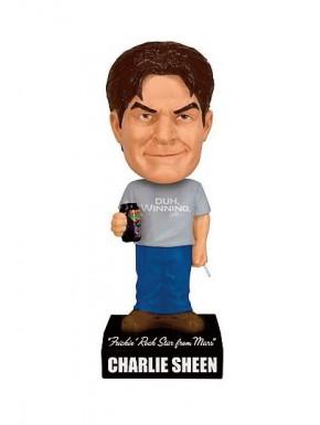 Charlie Sheen Wacky Wobbler Cabezón con sonido