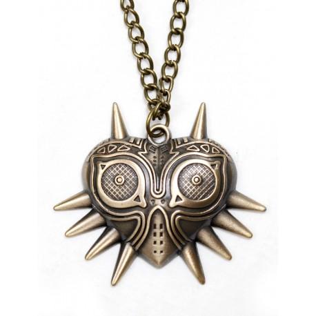 Colgante bronce Máscara de Majora Zelda solo 9,90 € - lafrikileria.com