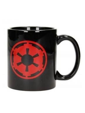 Star Wars Taza Simbolo Imperio y Logo