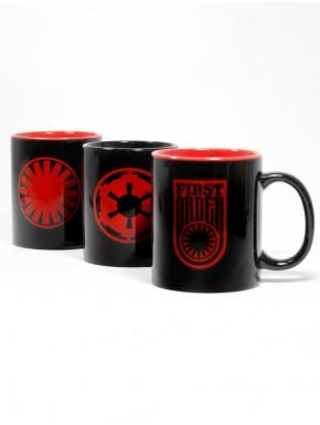 Trio Tazas Star Wars Dark