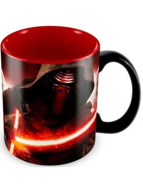 Taza Star Wars Kylo Ren roja