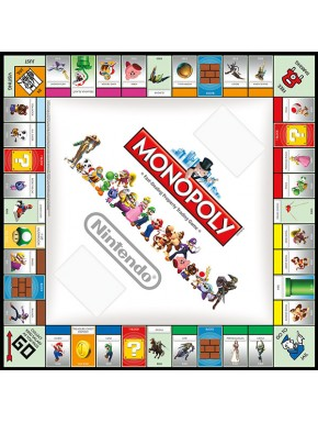 Monopoly Nintendo edición Inglés