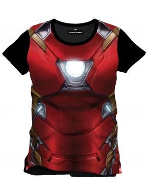 Camiseta Iron Man armour