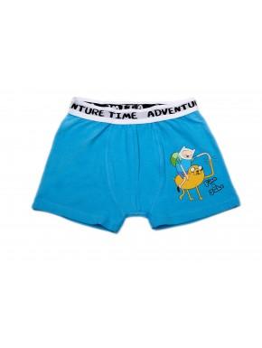 Hora de Aventuras Boxer Azul Niño