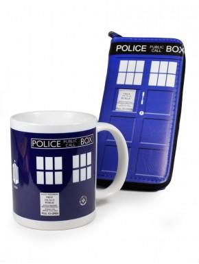 Pack Doctor Who Tardis money