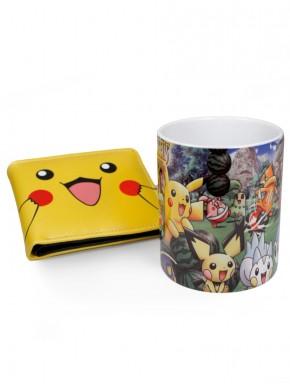 Pack Taza y Cartera Pikachu