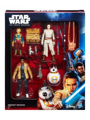 Pack de 4 Figuras Star Wars EpisodioVII