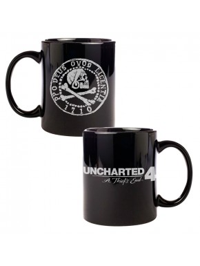 Taza Uncharted 4 Moneda Pirata