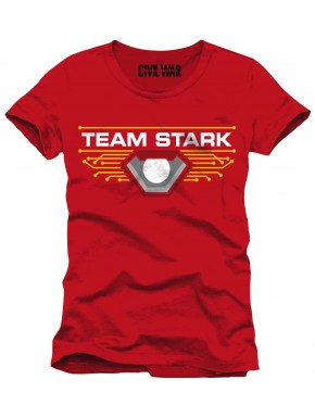 Camiseta Team Stark Civil War