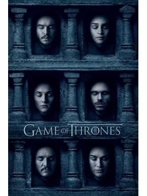 Poster Juego Tronos Caras
