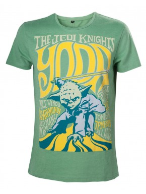 Camiseta Star Wars Yoda green