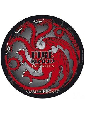 Alfombrilla ratón redonda Targaryen