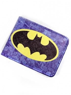 Cartera Batman blue