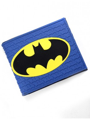 Cartera Batman blue caucho