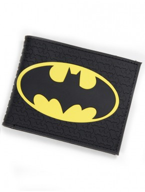 Cartera caucho Batman black