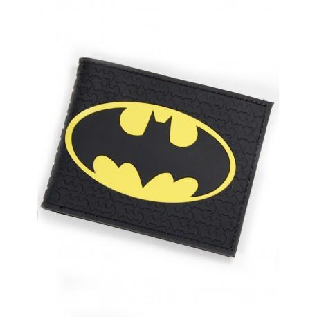 Cartera Batman black caucho