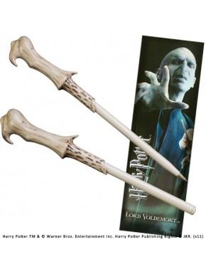 Bolígrafo y marcápaginas Lord Voldemort