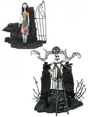 Pack Figuras Select Jack & Sally