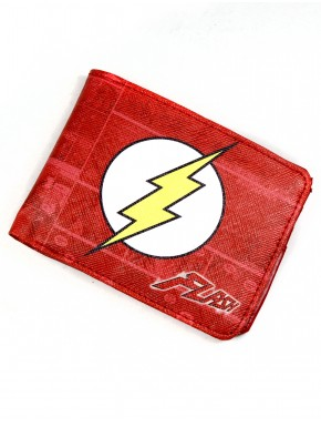 Cartera Flash red comic