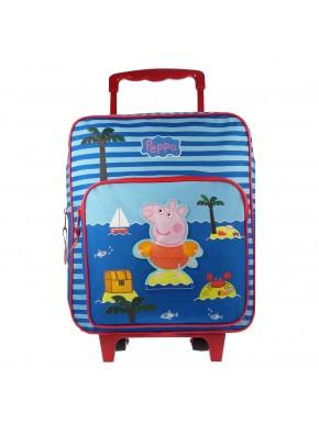 Trolley Peppa Pig azul