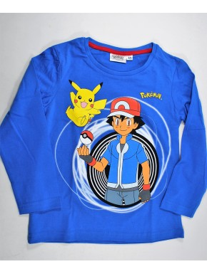 Pokemon Camiseta infantil azul